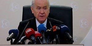 Bahçeli'den Erdoğan'ın Af Açıklamasına Tepki: 'Teklifimizi Uyuşturucu Temeline İndirmek Fahiş Bir Yanlış, Fuzuli Bir Demagojidir'