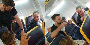 Ryanair Uçağında Yanında Siyahi Bir Kadınla Yolculuk Etmek İstemeyen Kişiden Irkçı İfadeler