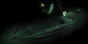 Dünyanın En Eski Gemisi Karadeniz'de Bulundu: 2400 Yıllık ve Hiç Bozulmamış Durumda!