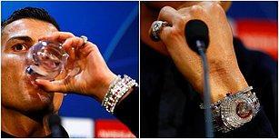 Yıldız Golcünün Saati Dudak Uçuklattı: Ronaldo'nun 14 Milyon TL'lik Saati İlgi Odağı Oldu