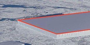 Mucize mi Felaket Habercisi mi: Antarktika'daki Aysberg, Ağızları Açık Bırakan Mükemmel Dörtgen Şeklini Nasıl Alabildi?