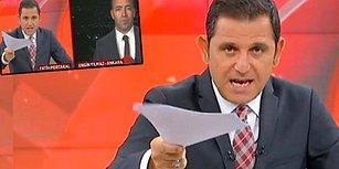 Canlı Yayında Haber Müdürünü Bozan Fatih Portakal: 'Güzel Kravatınız Yok Mu Abi Sizin?
