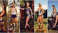 Dünyanın En Seksi Takvimi! 'Genç Çiftçiler Takvimi' İçin Poz Veren Birbirinden Güzel Kadınlar