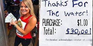 Su Getirdiği İçin Garsona 10.000 Dolar Bahşiş Bırakan Adam Gibi Adam!