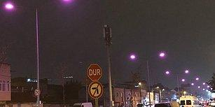 Erken Tanı Hayat Kurtarır! Bursa'da Sokak Lambaları Meme Kanserine Karşı Pembe Yandı