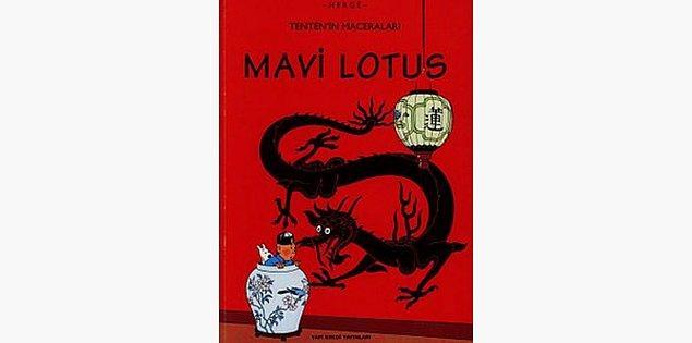 18. Mavi Lotus - Hergé (1936)