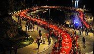 95. Yıl Kutlamaları 'Fener Alaylarıyla' Başladı: Yurdun Dört Bir Yanından Cumhuriyet Bayramı Coşkusu