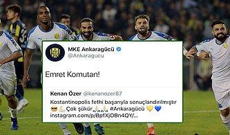 Ankaragücü Futbolcusu Kenan Özer'in 'Konstantinopolis' Tweet'i Tepki Çekti!