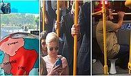Bir Toplu Taşımada Görüp Görülebilecek En İlginç ve Benzerine Rastlamak Pek de Mümkün Olmayan 25 Manzara