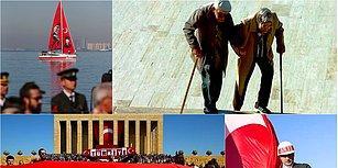 Cumhuriyet 95 Yaşında: Tüm Yurttan Objektiflere Yansıyan 29 Ekim Kutlamaları