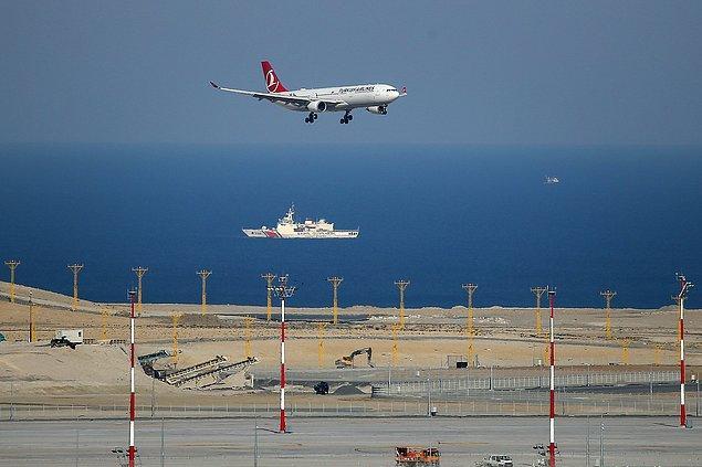 İlk etapta günlük 5 iniş kalkışın gerçekleşeceği havalimanında THY tarafından 31 Ekim'de Ankara, 1 Kasım'da Antalya, 2 Kasım'da İzmir'e ilk uçuş gerçekleştirilecek