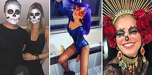Ünlüler Bu Yıl da Birbirinden Çılgın Cadılar Bayramı Kostümleriyle Yaratıcılıklarını Konuşturdu!