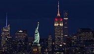 Cumhuriyetin 95. Yılı Onuruna: Empire State Binası Türk Bayrağı Renklerine Büründü