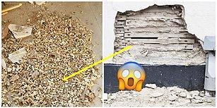 ABD'de Bir Binanın Restorasyonu Sırasında Duvarın İçerisinde Bine Yakın İnsan Dişi Bulundu!