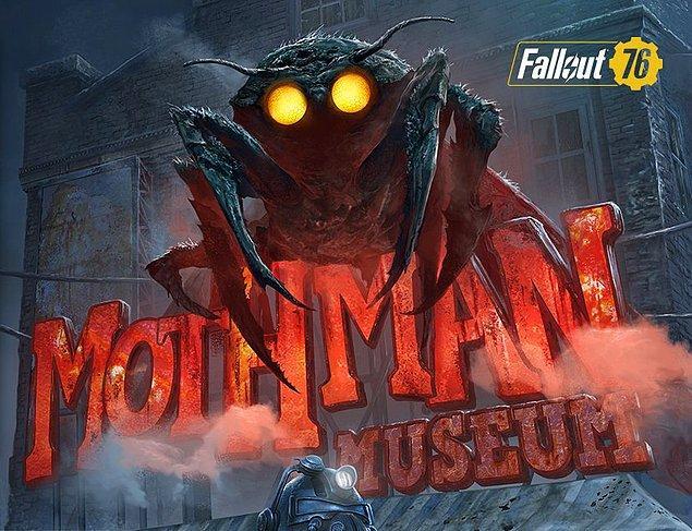 Mitolojik ögeleri kullanan Fallout 76'nın merkezindeki yaratık ise Mothman! Fallout 76 haritasında birbirinden farklı birçok yaratıkla karşılaşmak mümkün!
