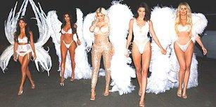 Kanat Takıp Melek Oldular! Cadılar Bayramı'nın Hakkını Bu Yıl da Kardashian'lar Verdi