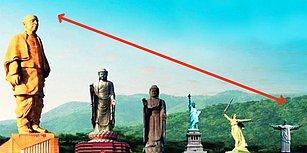 Özgürlük Anıtı'nın İki Katı! Heybeti ile Herkesi Şaşırtan Dünya'nın En Büyük Heykeli Hindistan'da Yapıldı!