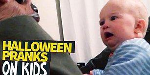 Cadılar Bayramı Niyetine Çocuklarını Korkutarak Eğlenen Ebeveynler