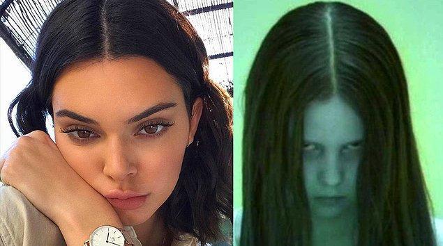 10. Saçı ortadan ikiye ayrınca hissedilen-Aslında olan.