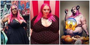 Ölümcül Bir Hastalığa Yakandıktan Sonra Dünyanın En Kilolu Kadını Olmaya Karar Vererek 133 Kilo Alan Model