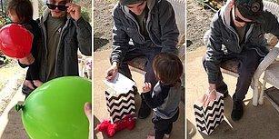 Renk Körü Bir Babanın Kucağında Kızıyla Renkleri İlk Defa Doğru Gördüğündeki Muhteşem Duygusal Anları