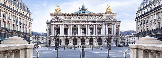 6. Palais Garnier, Fransa.