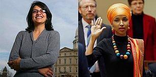 ABD Tarihinde İlk: İki Müslüman Kadın Rashida Tlaib ve Ilhan Omar Temsilciler Meclisi'ne Girdi
