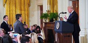 Sorduğu Sorular Trump'ı Sinirlendirmişti: Beyaz Saray, CNN Muhabirinin Akreditasyonunu Askıya Aldı