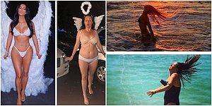 Ünlülerin Sosyal Medya Hesaplarından Paylaştığı Fotoğrafları Yeniden Yorumlayarak Kahkahalara Boğan Kadından 30 Eğlenceli Kare
