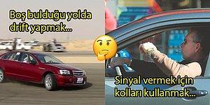 Türkiye'deki Şoförlerin Biraz Daha Zorladıklarında Trafik Canavarı Nobel'ini Alacağı 15 Hatası