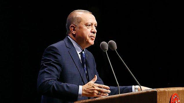 Erdoğan 7 askerin şehit olduğunu, 25 askerin de yaralı olduğunu aktardı