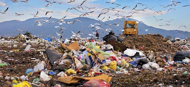OECD verilerine göre ise bu çöplerin geri dönüşümünde Türkiye en başarısız 20 ülke arasında.