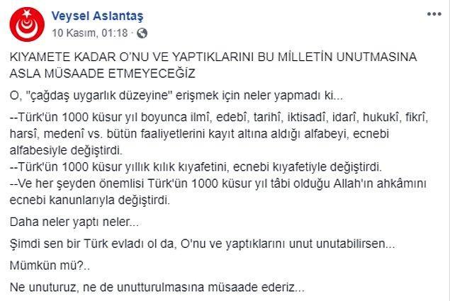 """""""Türk'ün 1000 küsur yıllık kılık kıyafetini, ecnebi kıyafetiyle değiştirdi"""""""