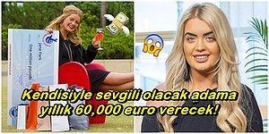 Parasıyla Değil mi? Kendisiyle Sevgili Olacak Adama Yıllık 60,000 Euro Verecek Olan Milyoner Kadın!