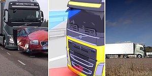 Volvo TIR'larında Bulunan Fren Sistemleri Ağızları Açık Bırakıyor!