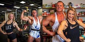 Vücut Geliştirici Olmaya Karar Verdikten Bir Yıl Sonra Şampiyon Olarak İmkansızı Başaran Çift