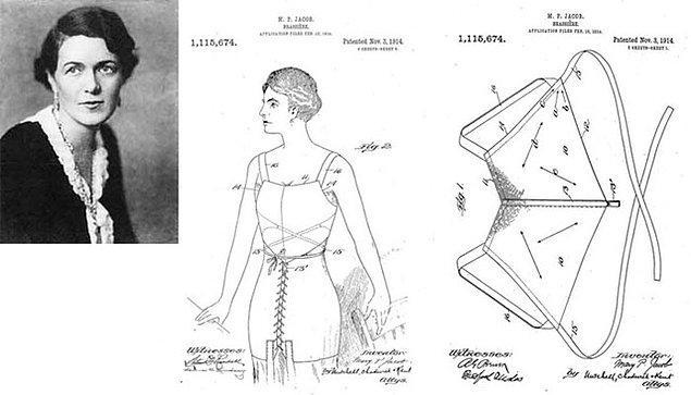 13 Kasım 1914 tarihinde ilginç bir şey daha oldu; Caresse Crosby tarafından geliştirilen sütyenin patenti alındı.