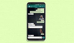 Yeni Uygulama Geldi: WhatsApp'ta Artık Kendi Fotoğraflarınızdan Sticker Yapabilirsiniz!