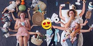 Annelerin Yaşadıkları Zorlukları Anlatırken Yaratıcılığın Dibine Vurmuş 13 Eğlenceli Fotoğraf