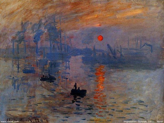 1840'da Fransız empresyonist ressam Claude Monet doğdu.