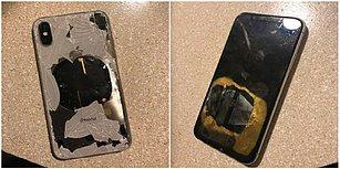 Telefonunu Güncellerken Şarjda Bırakanlar Dikkat! İngiltere'de Bir Gencin iPhone X'i Patladı!
