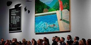 Yaşayan Bir Sanatçının Eseri İçin Ödenen En Yüksek Tutar: Hockney'in Tablosu 90,3 Milyon Dolara Satıldı
