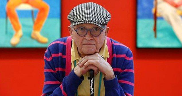 81 yaşındaki Hockney, 20. yüzyılın en önemli sanatçılarından