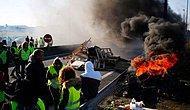 Fransa Sokağa Döküldü: Akaryakıt Zammı İçin Düzenlenen Protestolarda 400'den Fazla Kişi Yaralandı