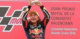 Moto GP 3'te Tarihi Başarı! 15 Yaşındaki Genç Sporcumuz Can Öncü Şampiyon Oldu