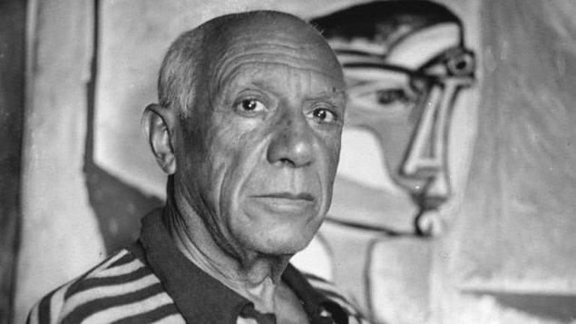 Sahte Picasso tablosunu bir köye götürüp asılsız ihbar yapmışlar.