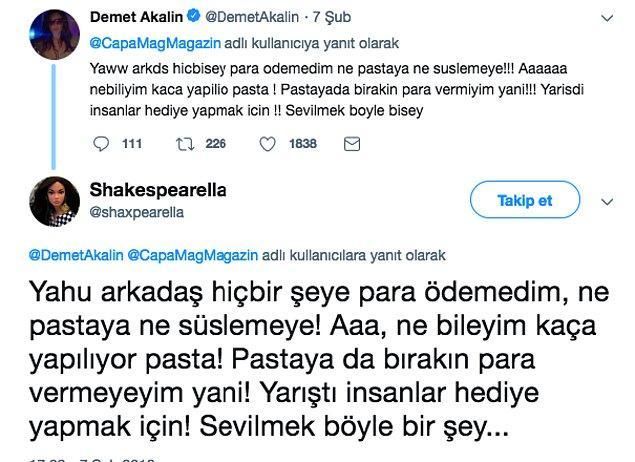3. Yazdıkları anlaşılmadığı için amme hizmeti olarak Demet Akalın'ın çevirmenliğini yapan Twitter hesabı