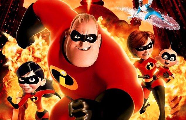 4. İnanılmaz Aile 2 (2018) Incredibles 2