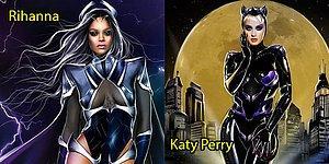 Dünyaca Ünlü İsimlerin Süper Kahramanlara Dönüştüğü Birbirinden Etkileyici 15 İllüstrasyon