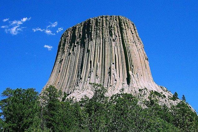 16. Wyoming'deki Şeytan Kulesi: